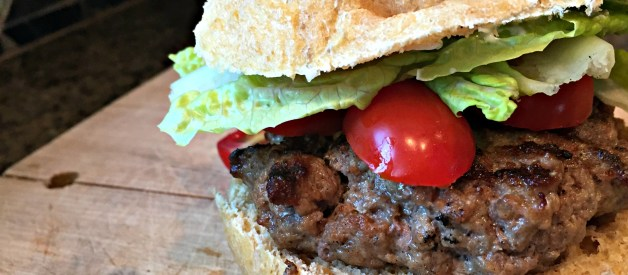 Grass-fed, Juicy, Pub Burgers