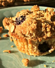 Blueberry Streusel Muffins (Premium)