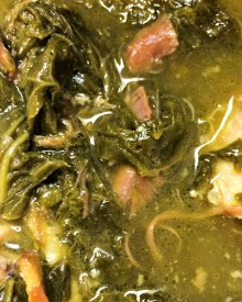 Southern Turnip Greens or Collard Greens (Premium)