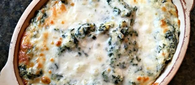 Hot Spinach Artichoke Dip (Premium)