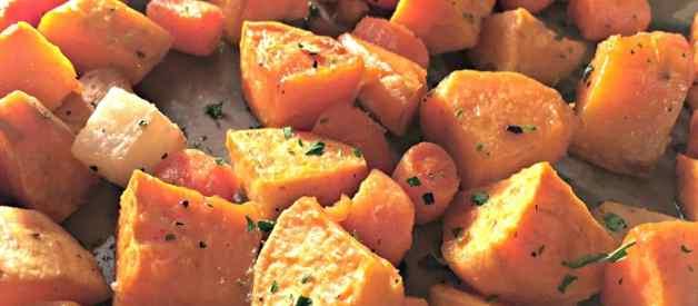 Roasted Winter Vegetables (Premium)
