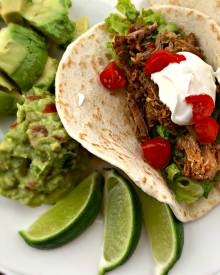 Pork Carnitas in Pressure Cooker or Crockpot!!!