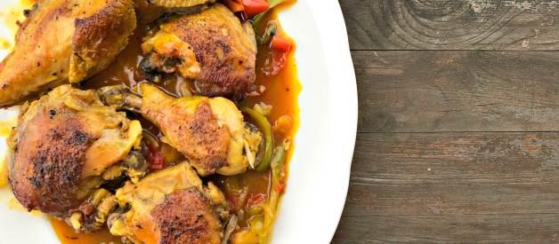 Paleo Friendly Chicken Caccaitore (Premium)