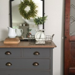 Grey Painted Chairs Table And For Toddlers At Walmart Charcoal Gray Dresser With A Sweet Little Note Farm