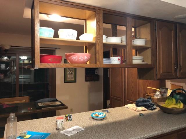 Cheap and easy kitchen update diy backsplash cabinet