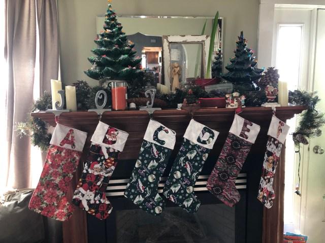 Christmas home tour Christmas tree living room decor