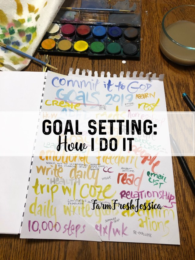 Passion planner wish list goal setting planning resolutions how to set goals achieve in 2019 AdHD