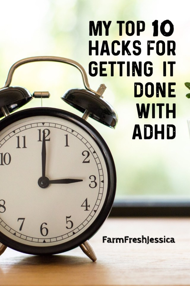 Getting stuff done with ADHD organization prioritizing productivity