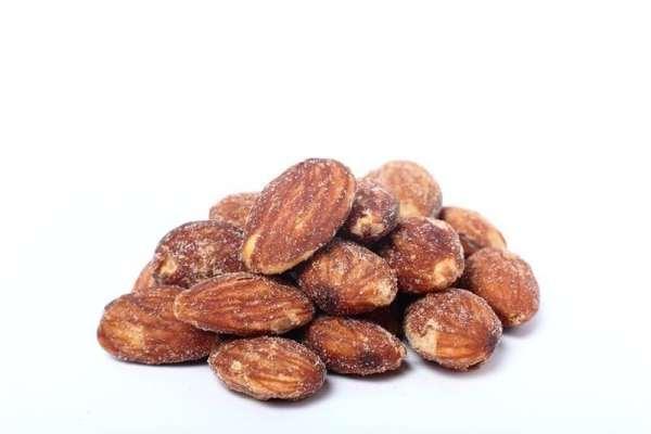 Freshly Roasted Almonds Salted Nonpareil Almonds Farm