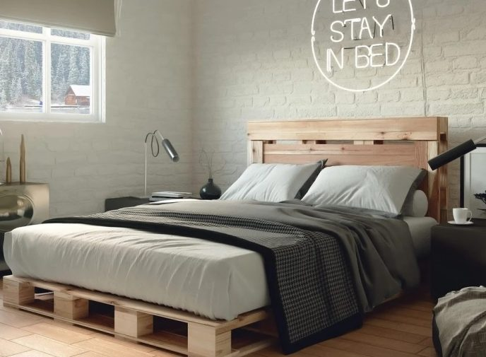 pallet bed frame ideas
