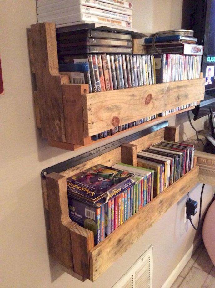 pallet bookshelf plans