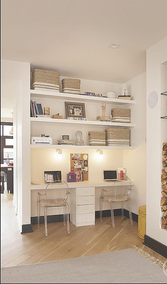 Basement Offices Ideas for two