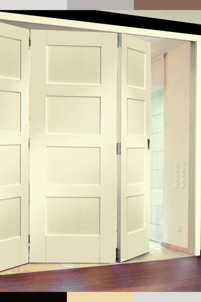 folding bathroom doors