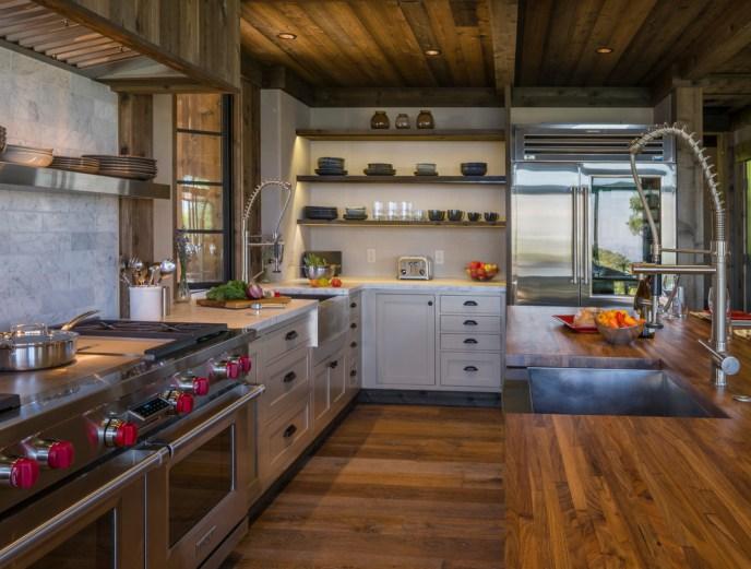 rustic farmhouse kitchen cabinets