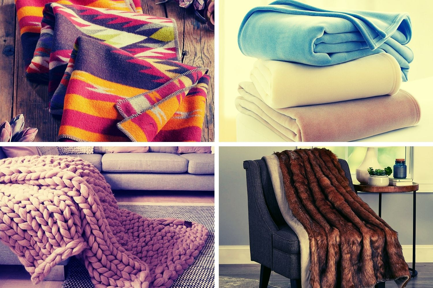 40+ Different Types Of Blankets to Improve Your Bedroom