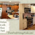 Painting kitchen cabinets with annie sloan the reveal
