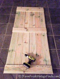 How to Build a Barn Door....for Around 20 Bucks! - Farm ...