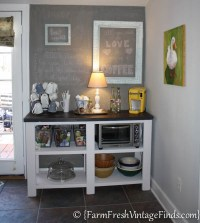 Coffee Bar, Theme Furniture Makeover Day~Inspired By Ana ...