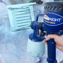Paint For Adirondack Chairs Target Eddie Bauer High Chair Painted Homeright Finish Max Diy Farm 3