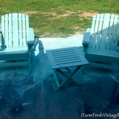 Painted Adirondack Chairs Posture Pleaser Elite Chair Homeright Finish Max Diy Paint Farm 5