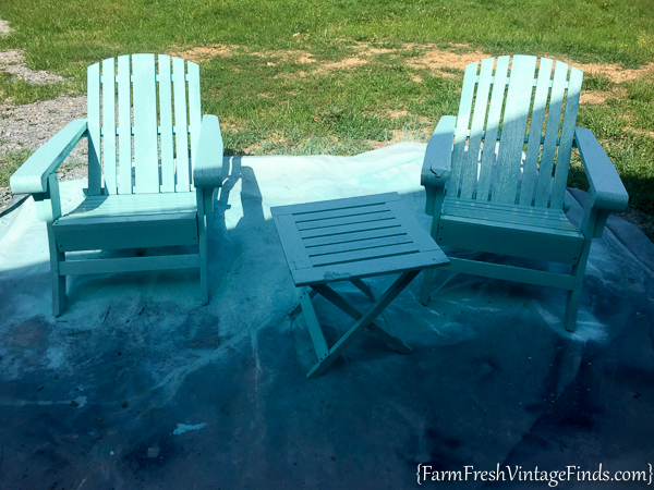 paint for adirondack chairs chair attached to desk painted homeright finish max diy farm 5