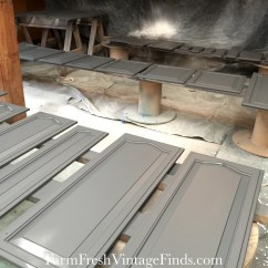 How To Paint Kitchen Cabinets Grey Complete Outdoor Kits Painting With General Finishes Milk