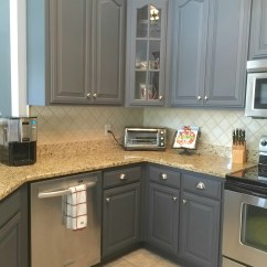 Painted Kitchen Cabinets Home Depot Kohler Sinks Painting With General Finishes Milk Paint
