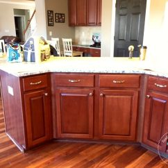Painted Kitchen Islands Cabinet Shelves Island And The First Farm Fresh Fix