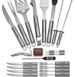 31-Piece-Stainless-Steel-BBQ-Accessories-Tool-Set-Includes-Aluminum-Storage-Case-for-Barbecue-Grill-Utensils-By-Kitch-N-Wares-0-0