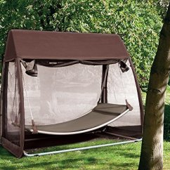 Padded Zero Gravity Chair Golden Technologies Lift Parts Abba Patio Outdoor Canopy Cover Hanging Swing Hammock With Mosquito Net 7.6×4.5×6.7 Ft ...