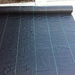 Agfabric-Ground-Cover-32oz-5x100ft-PP-Woven-Weed-Barriersoil-erosion-controlplastic-mulch-Weed-Block-0
