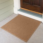 Andersen-280-WaterHog-Fashion-Polypropylene-Fiber-Entrance-IndoorOutdoor-Floor-Mat-SBR-Rubber-Backing-Custom-Cut-3-Length-x-3-Width-38-Thick-Medium-Brown-0-0