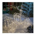 Animated-3-Piece-Lighted-Deer-Family-Christmas-Yard-Decoration-Set-250-Clear-Lights-40-Inch-Buck-Doe-and-24-Inch-Baby-0