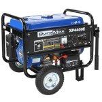 DuroMax-XP4400E-3500-Running-Watts4400-Starting-Watts-Gas-Powered-Portable-Generator-with-Wheel-Kit-0-0