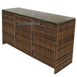 ESPRESSO-3-Drawers-Wicker-Rattan-Buffet-Serving-Cabinet-Table-Towel-Dining-Dish-China-Storage-Counter-Outdoor-0