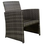 GHP-Outdoor-Garden-Patio-4-Piece-Cushioned-Seat-Mix-Gray-Wicker-Sofa-Furniture-Set-0-1