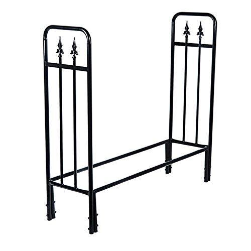 HIO Heavy Duty Firewood Racks 4-Foot Indoor/Outdoor Steel
