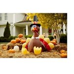 Home-Accents-5-Ft-LED-Turkey-Airblown-Inflatable-Thanksgiving-Holiday-0-0
