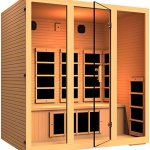 JNH-Lifestyles-Joyous-4-Person-Far-Infrared-Sauna-9-Carbon-Fiber-Heaters-5-Year-Warranty-0-0