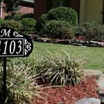 Le-Paris-Garden-Reflective-911-Home-Address-Sign-for-Yard-Custom-Made-Address-Plaque-with-Monogram-Great-Gift-Exclusively-By-Address-America-0-1