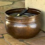 Liberty-Garden-Products-1901-Rustic-Garden-Hose-Pot-Rustic-0-0
