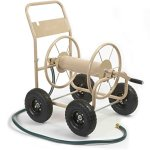 Liberty-Garden-Products-870-M1-2-Industrial-300-4-Wheel-Garden-Hose-Reel-Cart-Tan-0
