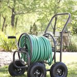 Liberty-Garden-Products-871-1-Residential-Grade-4-Wheel-Garden-Hose-Reel-Cart-with-250-Foot-Hose-Capacity-0-0