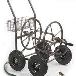 Liberty-Garden-Products-871-1-Residential-Grade-4-Wheel-Garden-Hose-Reel-Cart-with-250-Foot-Hose-Capacity-0