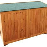 Merax-Wooden-Garden-Shed-Wooden-Lockers-with-Fir-wood-Natural-wood-color-Double-door-2-0-1