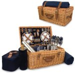 Picnic-Time-Windsor-English-Style-Willow-Picnic-Basket-with-Deluxe-Service-for-4-0