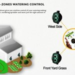 RainRobot-SC6400-Smart-Irrigation-ControllerSmart-Hose-Timer-Instant-One-Touch-Control-from-Indoors-with-Smartphone-iPhoneAndroid-Reliable-Long-Range-Control-Multi-Zone-Support-Water-Saver-0-1