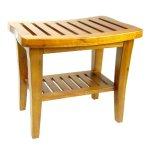 Redmon-Indoor-Outdoor-Home-Garden-Decor-Classic-Genuine-Teak-Wood-Bench-0