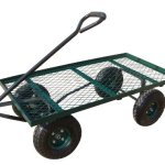 Sandusky-Lee-FW-Steel-Flat-Wagon-Green-0