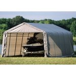 ShelterLogic-12-x-20-x-8-ft-Instant-Garage-Heavy-Duty-Canopy-Carport-0